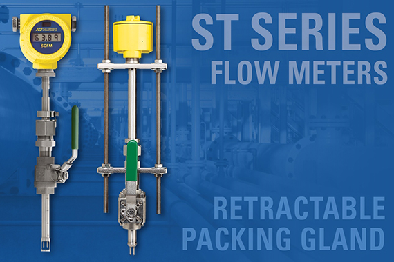 FCI introduces retractable packing gland option for ST series of flow meters
