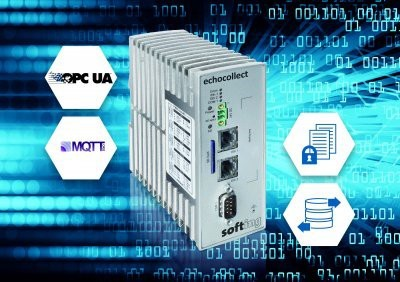 Softing adds MQTT protocol to echocollect gateway