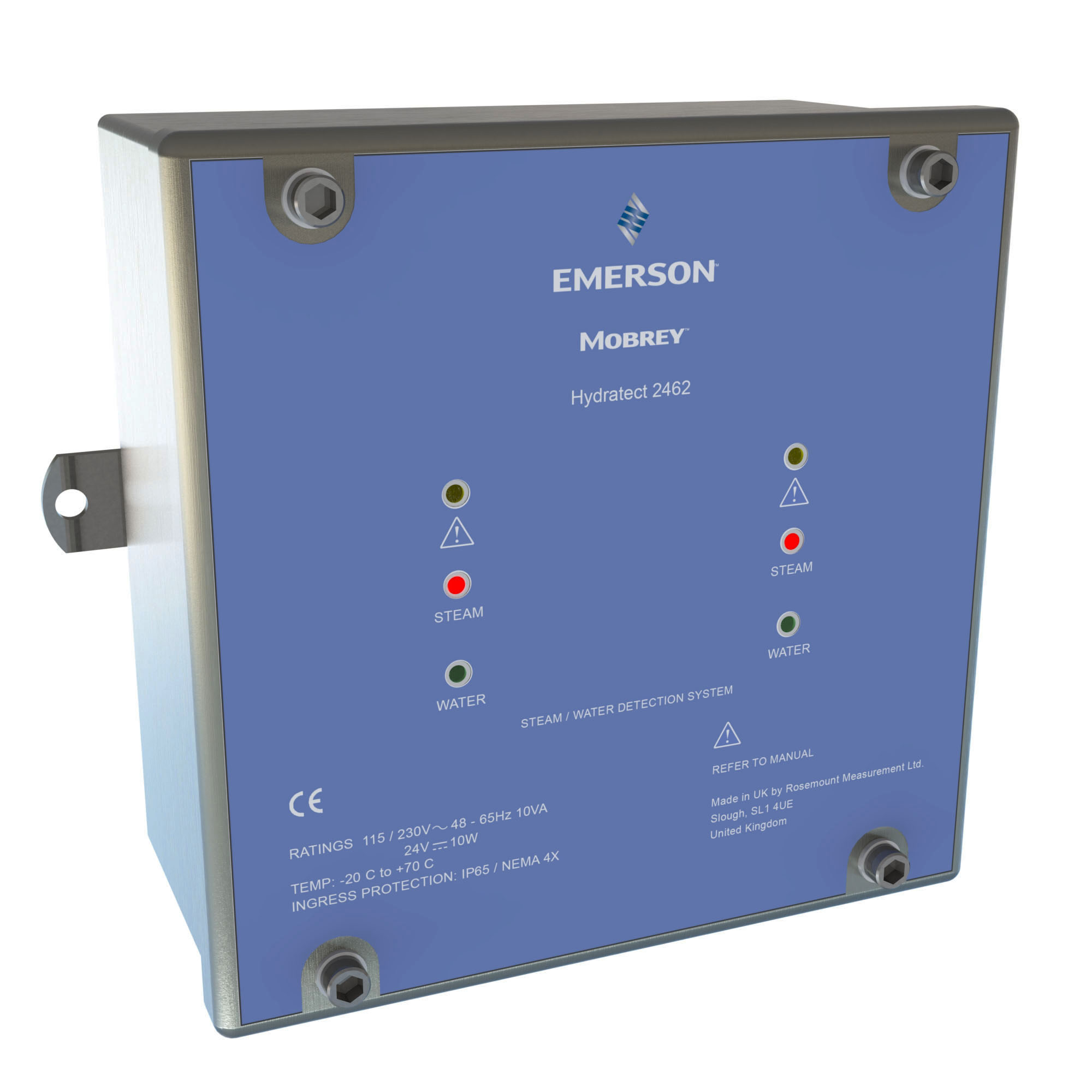 Emerson earns SIL 3 certification for Mobrey Hydratect 2462 Water and Steam Detection System
