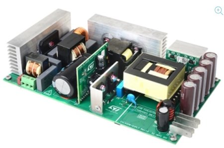 STMicroelectronics Eases Design of Energy-Saving Power Supplies with 400W Evaluation Board