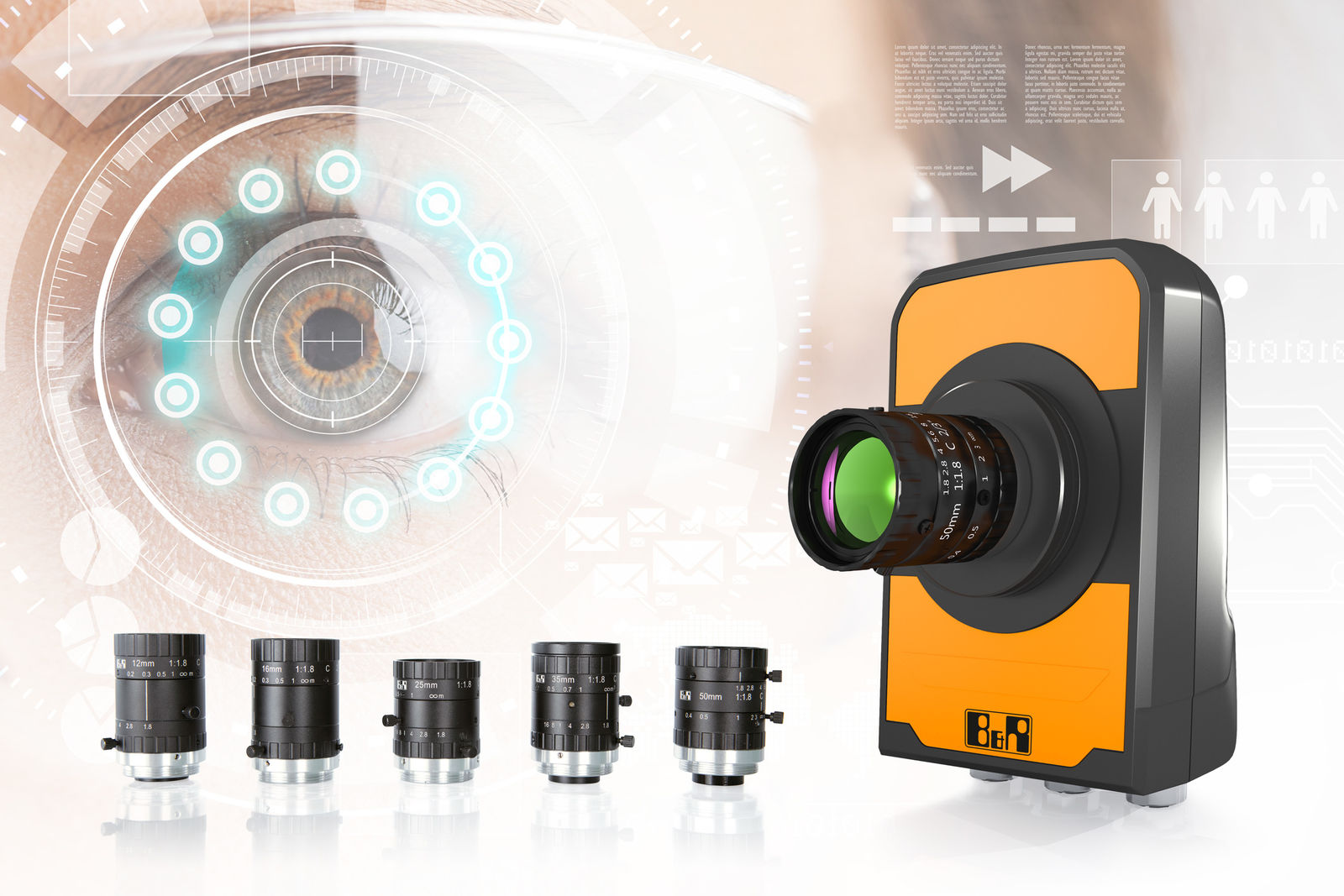 B&R introduces C-mount cameras to vision portfolio