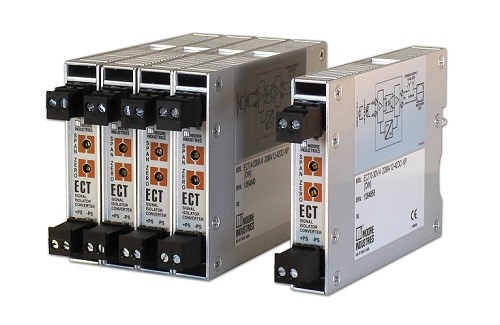 Moore Industries releases ECT-DIN 2-Wire Isolator