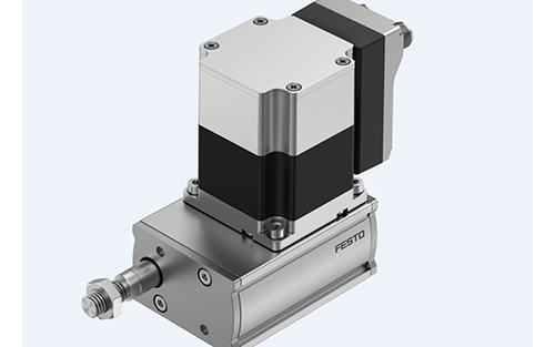 Festo Develops a New Compact Cylinder for its Simplified Electric Motion Series of Actuators