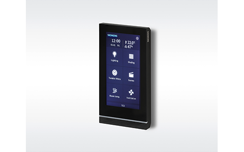 Siemens' New KNX Touchpanel Makes Every Room Smart