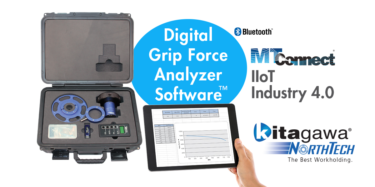 Kitagawa NorthTech introduces Digital Grip Force Kit Analyzer Software and Kit for Windows