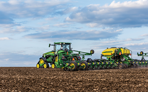 John Deere Digitalization & Automation Increases Farming Productivity