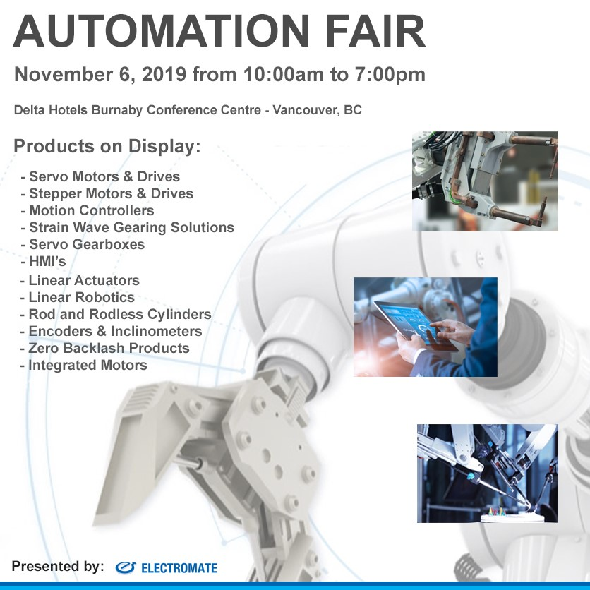 Electromate announces Electromate Automation Fair