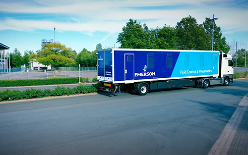 Emerson Launches Virtual Access to Mobile Road Show
