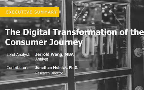 Digital Transformation for the New Consumer Journey