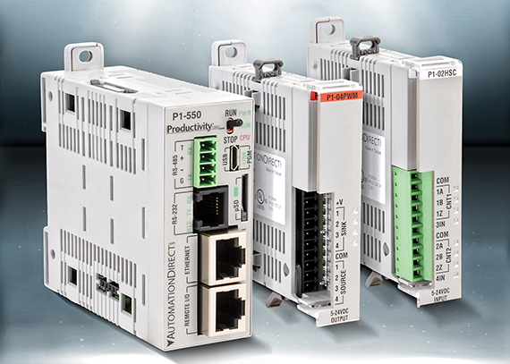 AutomationDirect introduces enhanced Productivity1000 Stackable Micro PLC