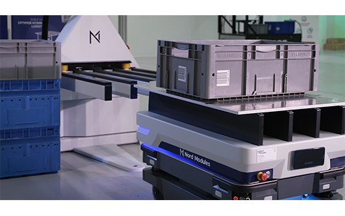 Ultimation Industries Introduces Warehouse Robots to Give  Companies of All Sizes Flexible Material Handling Solutions