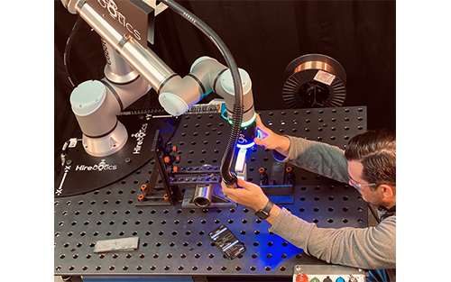 Hirebotics' New Cobot Welder, Powered by Beacon, to Launch During Online Event April 28