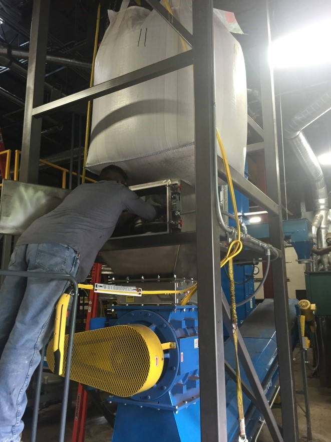 Sterling Systems & Controls announces Dust Containment System for bulk bag unloading systems