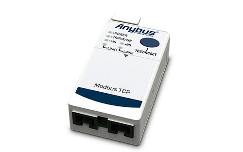 The Anybus E300 Modbus TCP Module expands applications for the Rockwell Automation E300 Overload Protection Relay.