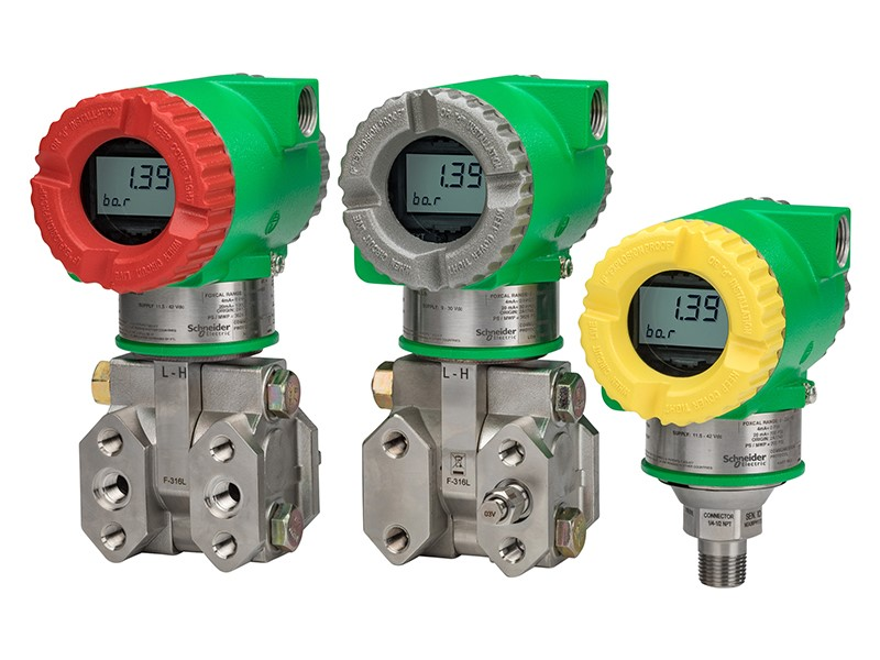 Schneider Electric Multi-Tiered Pressure  Transmitters Line