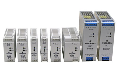 Emerson SolaHD Power Supplies Deliver Essential Power Quality for High-Volume Machinery