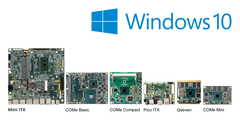 congatec announces support for IoT editions of Windows 10