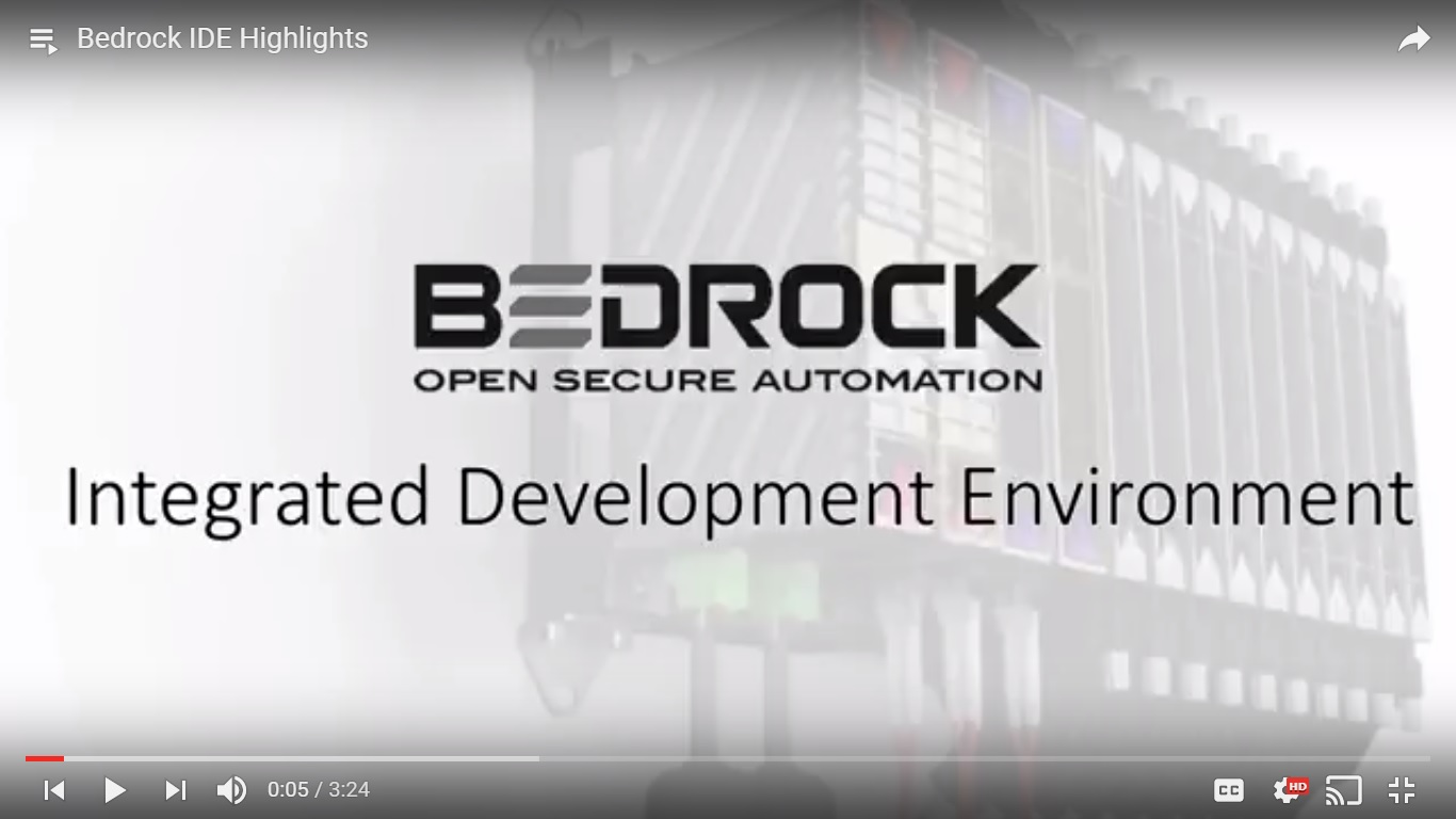 Bedrock announces free online training for Integrated Development Environment (IDE)