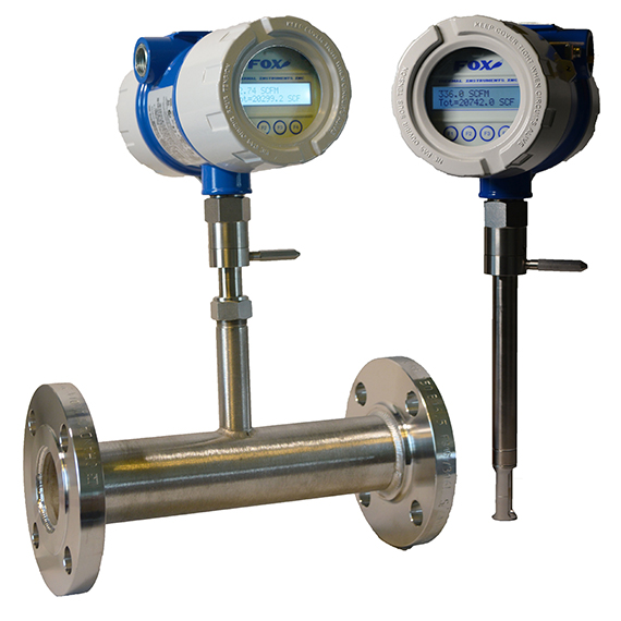 Fox Thermal Instruments introduces Fox Model FT4X Thermal Mass Flow Meter