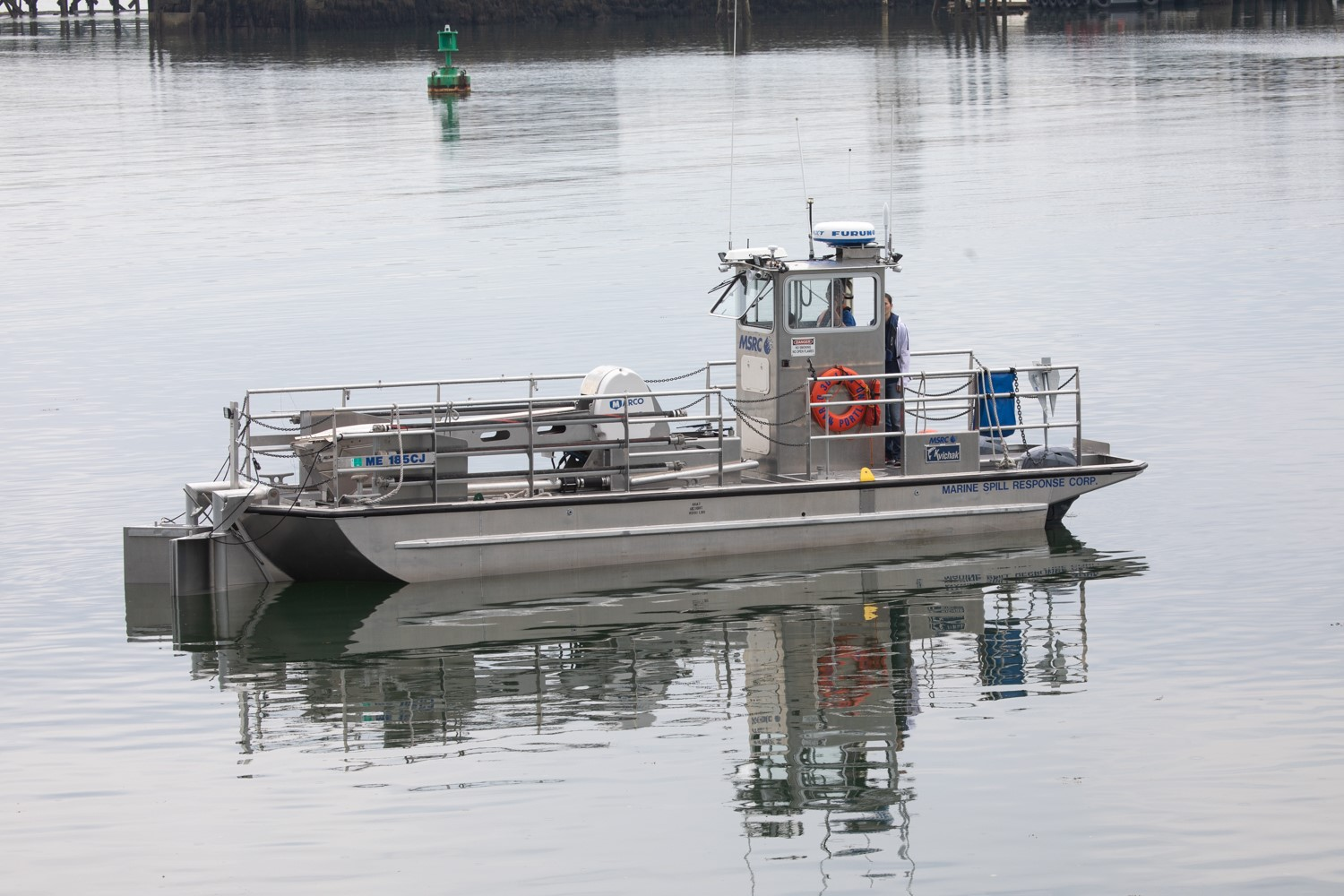 Sea Machines Robotics demonstrates autonomous systems to assist marine oil-spill response