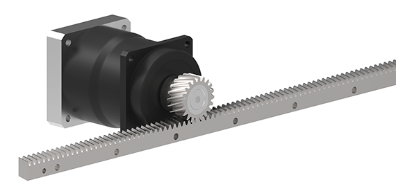 GAM releases helical rack and pinion systems