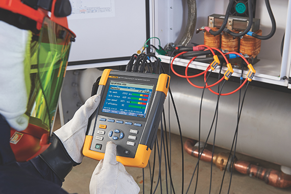 Fluke and Veros Systems partner to release Fluke 438-II Power Quality and Motor Analyzer
