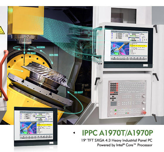 Industrial Panel PCs Support Flexible Touch Configurations for Versatile Applications