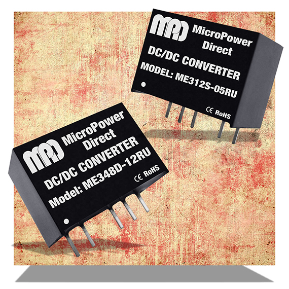 MicroPower Direct introduces ME300RU series of DC/DC converters