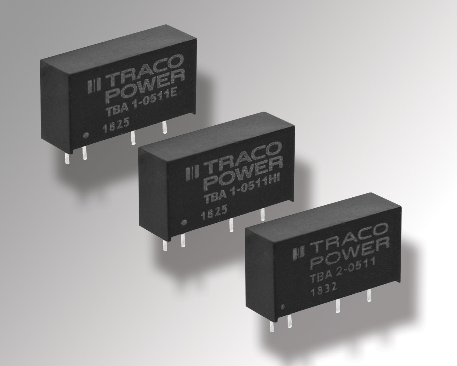 TRACO POWER introduces TEC 3 series of DC-DC converters