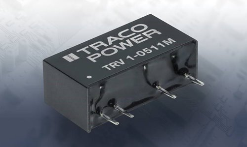 TRACO Power introduces TRV 1M series of  DC/DC converter