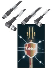 Weidmuller introduces Fully Shielded Sensor-Actuator Cables