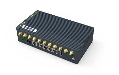Advantech Launches Ultra-High-Speed 5G Router Providing a Powerful Edge Computing Gateway