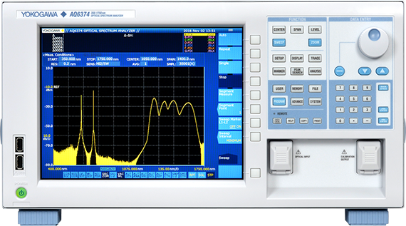 Yokogawa introduces AQ6374 Optical Spectrum Analyzer