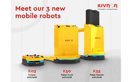 Kivnon Presents its Latest Three Innovations in Mobile Robotics