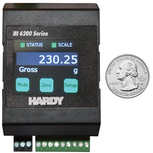 Hardy Process Solutions introduces Hardy HI 6200 PROFINET weight processor