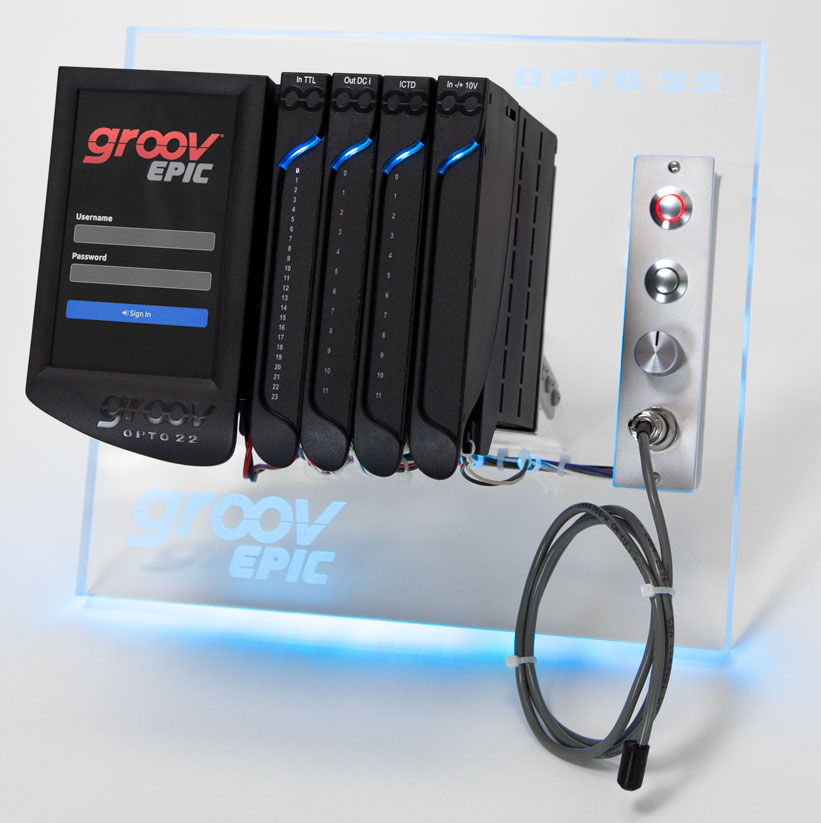 Opto 22 announces groov EPIC Learning Center