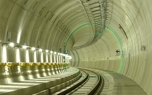 Mikrotron Helps Keep Switzerland's Ceneri Base Tunnel Railway Project On Track