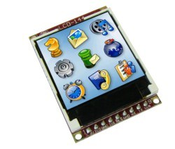 Saelig Announces  uLCD-144 LCD Display Modules