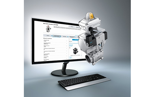 Festo Launches Online Ball-Valve Configurator