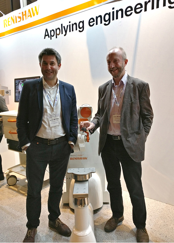 Renishaw robot assists successful neurosurgery procedure at Welsh hospital