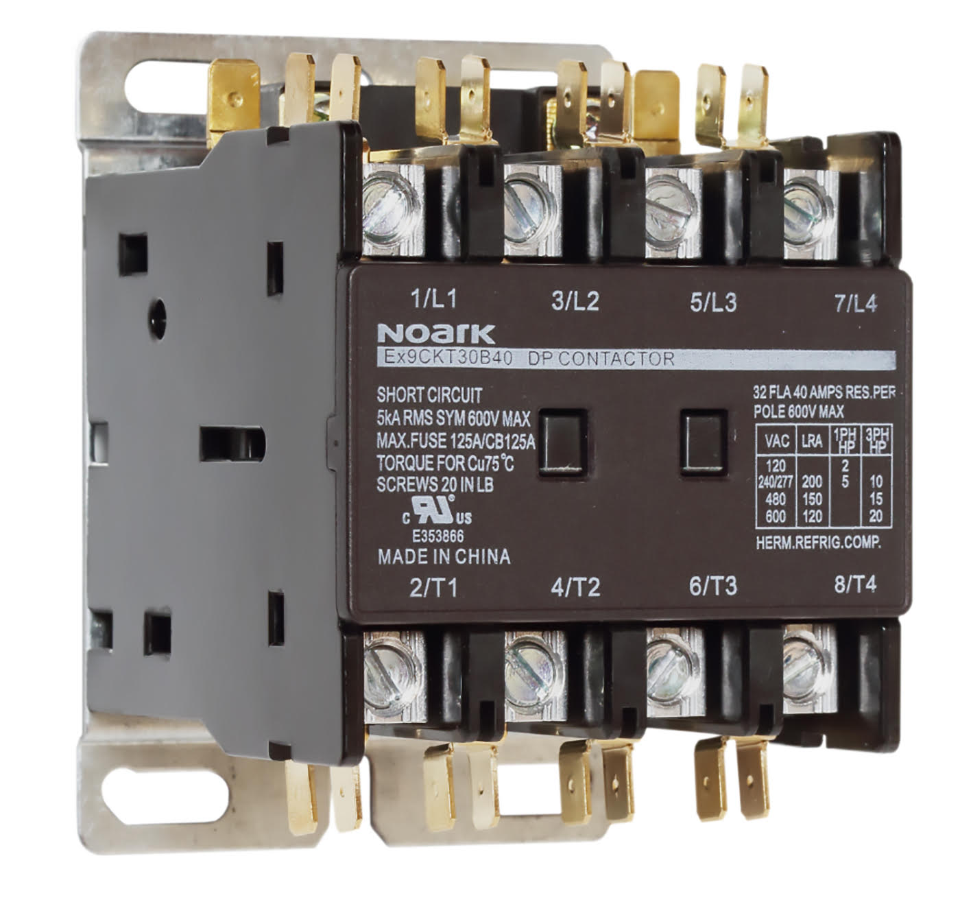 NOARK Electric announces Ex9CKT series of DP contactors