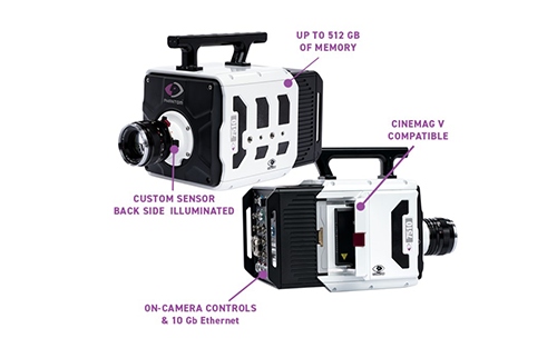 Vision Research Launches Phantom TMX High-Speed Cameras With Back Side Illumination Technology