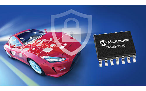 Microchip's TrustAnchor Device Provides OEMs with a Simplified Path to Automotive Network Security