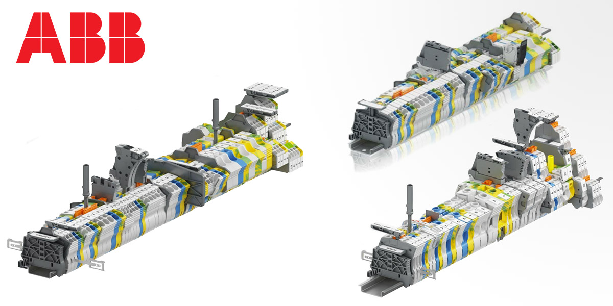 ABB and CADENAS partner to enhance ABB's flip catalog for the SNK series terminal blocks