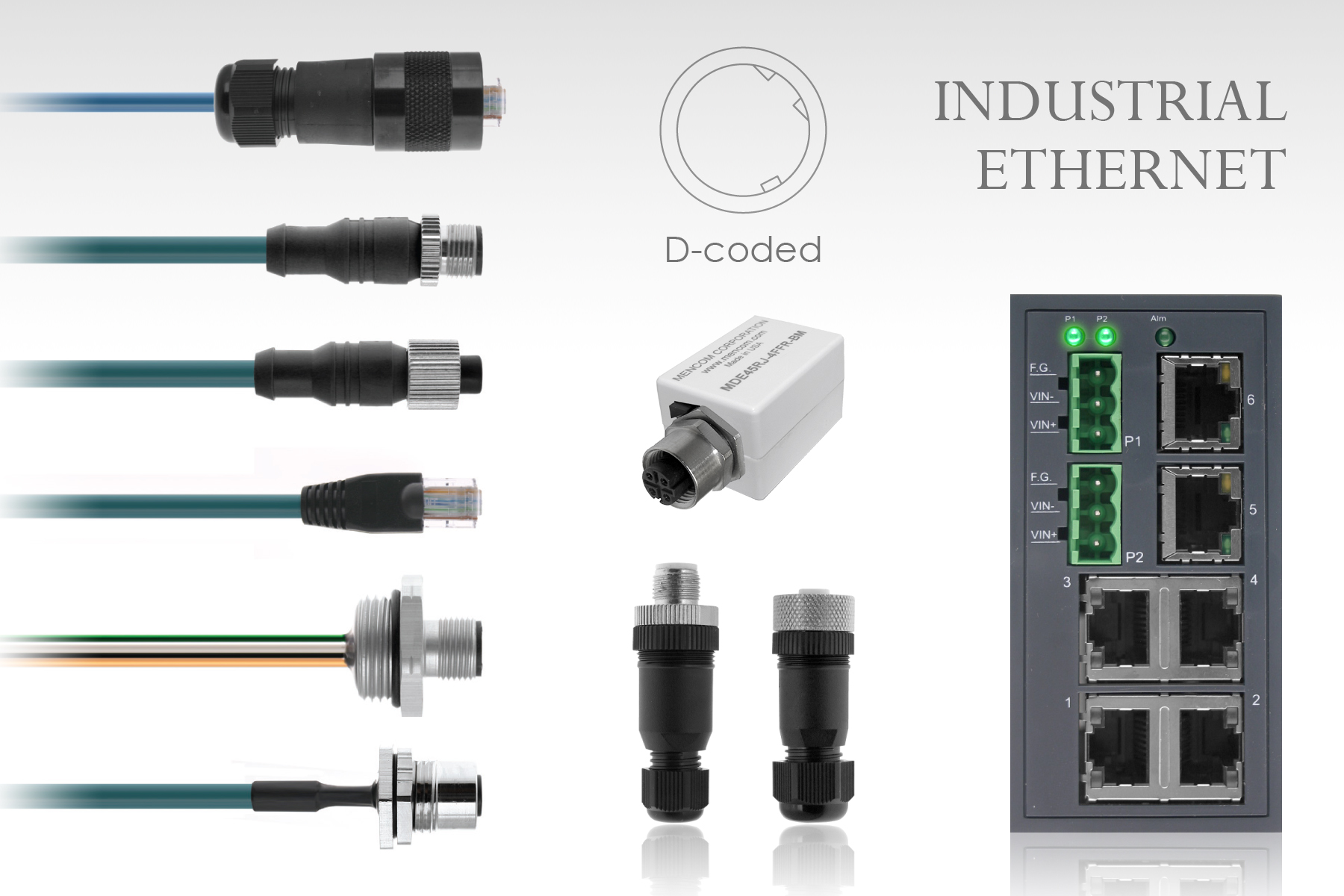 Industrial Ethernet and Network Connectivity Solutions