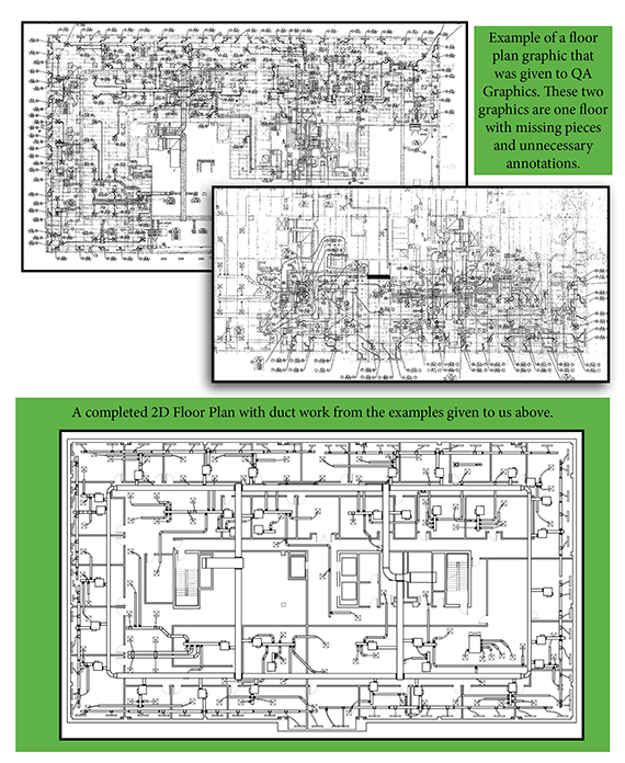 QA Graphics helps provide 2D floor plan graphics for Centennial Controls