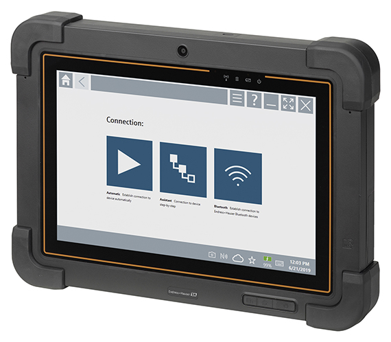 Endress+Hauser introduces Field Xpert SMT77 tablet PC tool for field instrument management