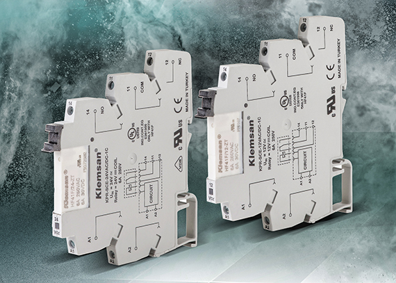 AutomationDirect introduces Klemsan Series slim interface relays
