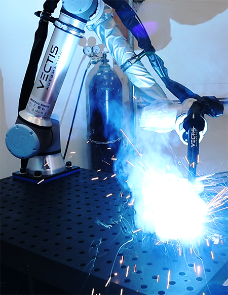 Universal Robots' helps Vectis Automation power Vectis Cobot Welding Tool