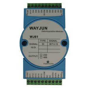 WJ61 dry contact to RS485/232 Converter
